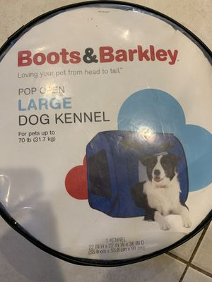 Collapsible Soft Dog kennel for Sale in Raynham, MA