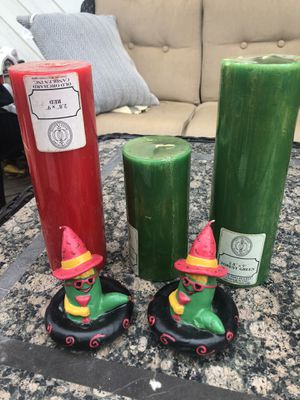 Candles set of 5 for Sale in Englewood, CO