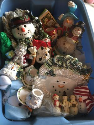 Assorted Snowman Collectables for Sale in Sarasota, FL