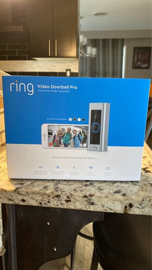 BRAND NEW! Ring video doorbell PRO for Sale in Palos Heights, IL