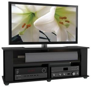 """New TV Stand for Most Flat-Panel TVs Up to 55"""" - Black for Sale in Washington, DC"""