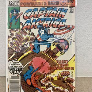 Captain America #266 - Bronze Age - Spider-Man App for Sale in San Diego, CA