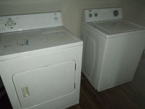 Roper dryer and estate washer set for sale for Sale in Spring, TX