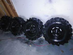 Brand new Set of 4 rims and tires 4 wheeler 27×10-12 for Sale in Douglasville, GA