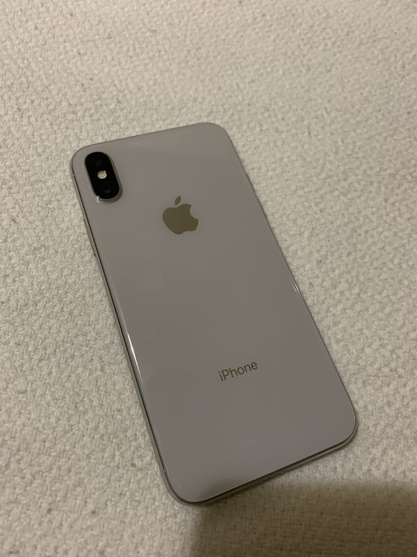 iPhone X 256gb Unlocked. NO SHIPPING