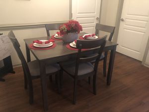 Grey Wood Dining/Kitchen Table for Sale in Frisco, TX