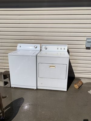 High capacity Washer and high capacity gas dryer for sale Whirlpool and Kenmoore for Sale in Meridian, ID