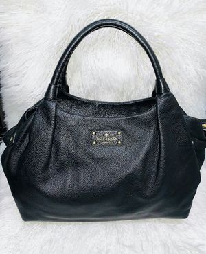 Authentic Kate Spade Black Leather Purse for Sale in Chandler, AZ