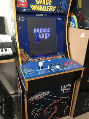 Space invaders 1up arcade cabinet for Sale in Pomona, CA