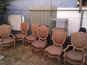 Exclusive Wood and Leather Dining Chairs for Sale in Los Angeles, CA
