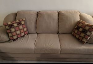 Tan sleeper sofa for Sale in Arlington, VA