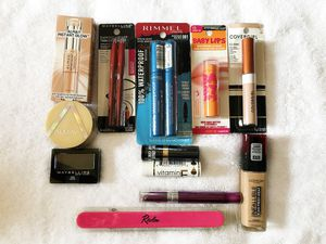 $20 Makeup Bundle 2 - Almay, Maybelline, Rimmel, Covergirl, Revlon for Sale in Pittsburgh, PA