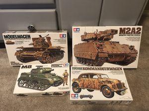 1/35 Scale rare Armor kits, Tamiya DML Italeri ICM for Sale for sale  McKinney, TX