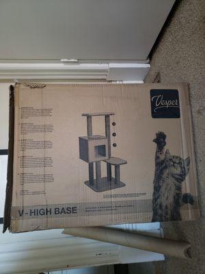 Vesper V-high base cat tree for Sale in Pittsburgh, PA
