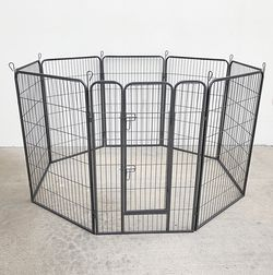 """Brand New $125 Heavy Duty 48"""" Tall x 32"""" Wide x 8-Panel Pet Playpen Dog Crate Kennel Exercise Cage Fence for Sale in Whittier,  CA"""