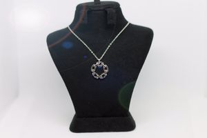 Chain Hoop Pendant Necklace for Sale in Silver Spring, MD