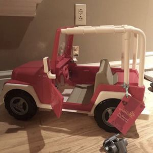 american girl doll jeep car for Sale in Wexford, PA