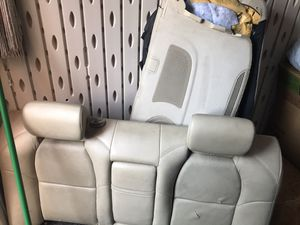 2004 - 2008 Acura TL rear seats + rear speaker cover for Sale in Tolleson, AZ
