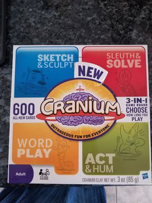 Cranium new 3 in 1 game board for Sale in Orangevale, CA