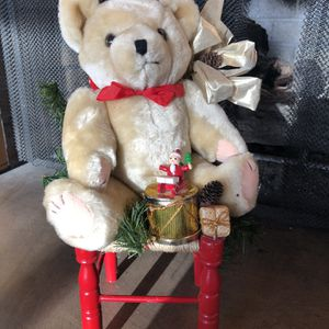 Teddy Bear On A Red Chair for Sale in Littleton, CO
