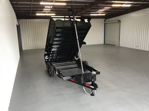 7x14x2 - 14k bumper pull dump trailer for Sale in Houston, TX
