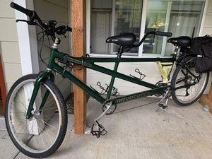 Tandem Cannondale bike for Sale in Portland, OR
