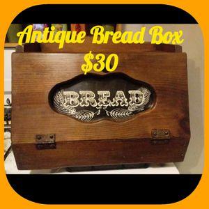Antique Bread Box $30 for Sale in Quincy, IL