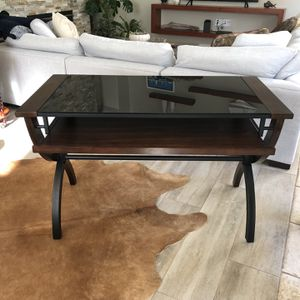 Wood Iron Computer Desk 4' X 2' for Sale in San Jose, CA