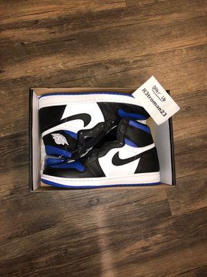 Nike Air Jordan 1 Retro High OG Royal Toe 9.5 for Sale in Rancho Cucamonga, CA