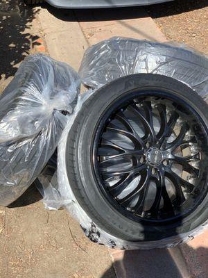 Helo HE890 satin black 20 inch rim for Sale in Oakland, CA