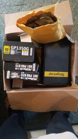 Lot of Computer parts (for mining) for Sale in East Northport, NY