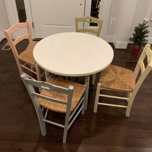 Pottery Barn Kids Table and Chairs Set for Sale in Odenton, MD