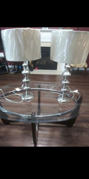 Two. Lamps . Good Condition. for Sale in Gainesville, VA