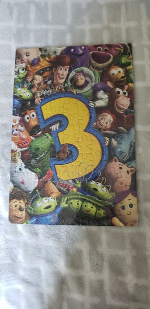 """TOY STORY 3 DISNEY PIXAR PROMOTIONAL PUZZLE 12""""x8"""" 2-Sided Mint Sealed 2010 NEW! for Sale in Fuquay-Varina, NC"""