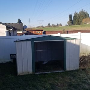10X6 METAL SHED for Sale in Vancouver, WA