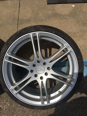 18 inches low profile rims and tires for Sale in Newport News, VA