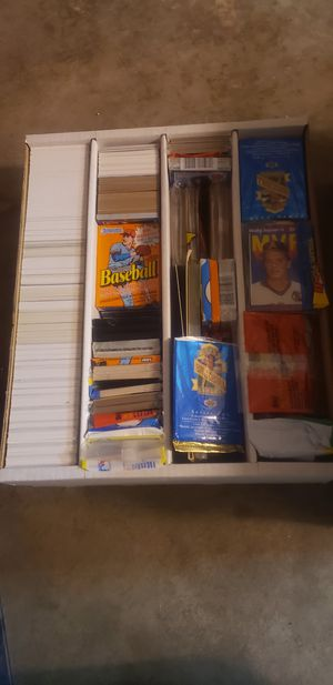 Baseball,basketball,football and hockey card collection for Sale in Beaverton, OR