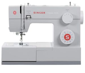 SINGER Heavy Duty 4423 97 Stitch Applications, Metal Frame, Built-in Needle Threader Made Easy Sewing Machine, white for Sale in Pittsburg, CA