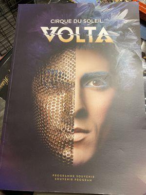 Cirque du Soleil Volta Souvenir Program with ticket $20 for Sale in Tampa, FL