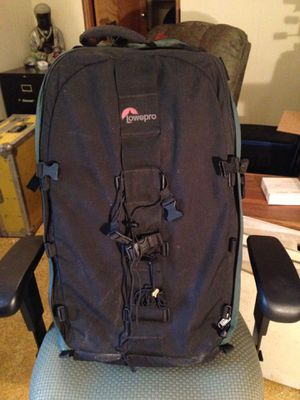Large lowepro camera gear backpack for Sale in Hoquiam, WA