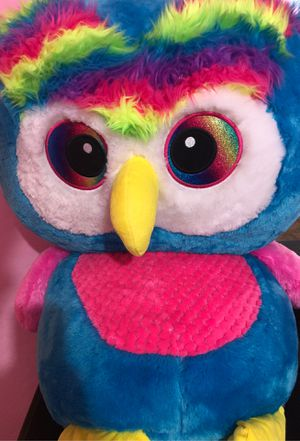 Large Rainbow Owl Stuffed Animal for Sale in Surprise, AZ