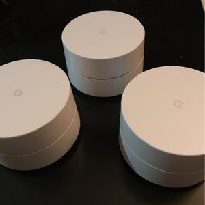 Google WiFi 3 Pack for Sale in Chandler, AZ