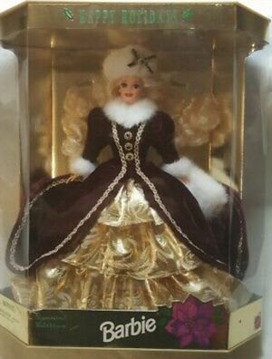Special edition holiday Barbie gold dress for Sale in New Brighton, MN