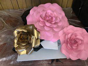 Decor flowers handmade for Sale in Stockton, CA