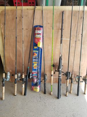 Lots of fishing poles for Sale in Glendale, AZ