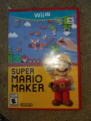 Wii u mario maker for Sale in Rialto, CA