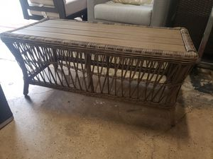 New outdoor patio furniture coffee table tax included delivery available for Sale in Hayward, CA