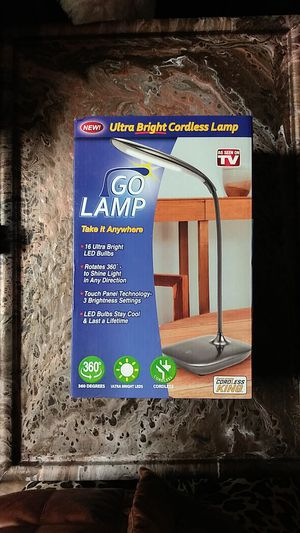 Brand New Cordless Lamp for Sale in Kalamazoo, MI
