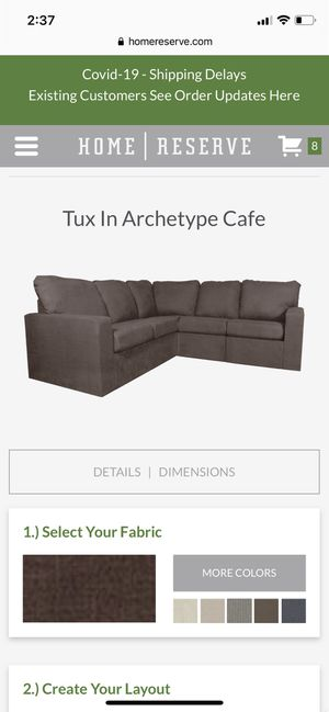 Home Reserve Sectional Couch/Storage for Sale in Modesto, CA
