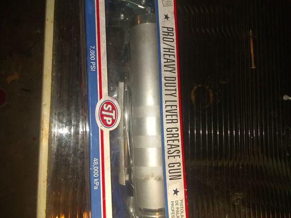 STP Pro/heavy duty grease gun